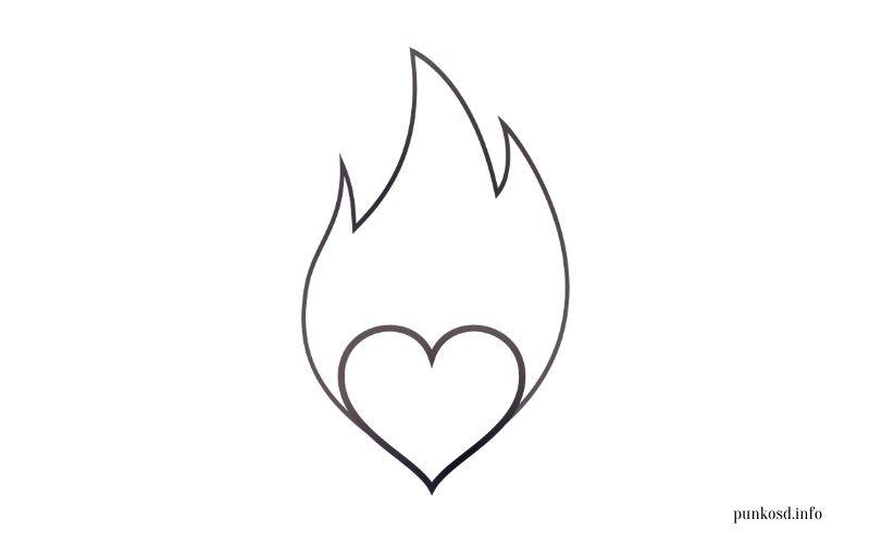 Pünkösdi kifestő - tűz